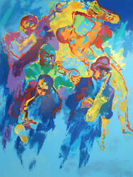 Leroy Neiman S/n Serigraph Jazz Horns Closeout Sale 2500 Make Offer