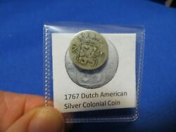 1767 Silver Early American Colonial Coin Before Us Minted Coins Free Shipping