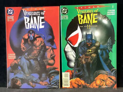 Batman Vengeance Of Bane 1 First App Of Bane And Redemption Ii High Grade