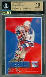 1995 Pro Mag 98 Mark Messier Test Proof Bgs 10 Mac Solo Finest 28 Cards Made