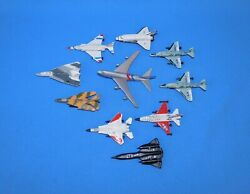 10 Die-cast Planes+ Space Shuttle+ Flying Tigers Jet And More