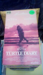 Turtle Diary Rare Vestron Video 1985 Vhs Sea Turtle Turtlenappers Ben Kingsley
