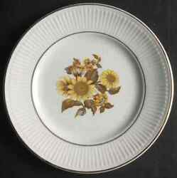 Royal Warwick Sunflower Bread And Butter Plate 641227