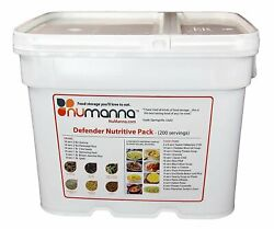 Numanna 200 Meals Emergency Survival Food Storage Kit Separate Rations In...