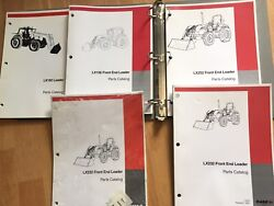 5 Case Ih Lx156 192 232 252 Tractor Loader Factory Parts Catalogs Manuals