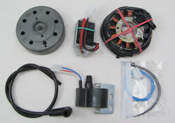 Powerdynamo Mz-b Vape Ignition Stator System For Moto Islo 1970s Cooper Dc Sys