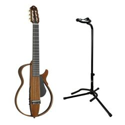 Yamaha Slg200nw Silent Guitar Set With Stand