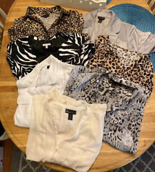 Lot Of 15 Items Lane Bryant Womens Size 18/20 Clothing Tops/blouses/jackets