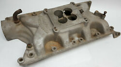 Offy Offenhauser Dual Port 4 Barrel Intake Manifold For S/b Ford 351w Series