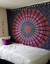 Mandala Tapestry Indian WallHanging Decor Bohemian Hippie Bedspread Beach Throw