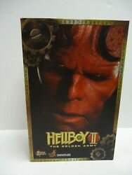 Hot Toys Ultra Rare Mms83 1/6 Scale Figure Hellboy Ii The Golden Army. Sealed