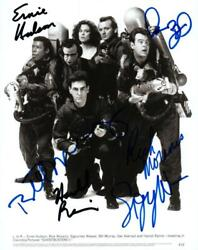 Dan Aykroyd Hudson Ramis Murray +2 Signed 8x10 Photo Picture Autographed And Coa
