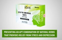 8packxdivya Medha Vati Extra Power 30x4 Relief From Stress And Depression960