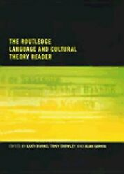 The Routledge Language And Cultural Theory Reader By Lucy Burke New