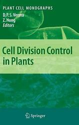 Cell Division Control In Plants English Hardcover Book Free Shipping