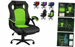 Gaming Chair Office Computer Chair Racing Tall Video Game Chairs High Green
