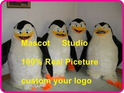 Penguins Mascot Costume Suit Cosplay Party Game Dress Outfit Halloween Fancy New