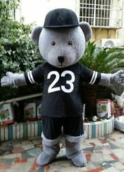Bears Mascot Costume Cosplay Party Dress Outfit Advertising Halloween Adult 5