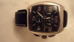 Aqua Marin Chronograph Watch Older Edition Stainless Steel Water Resistant