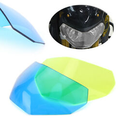 Front Headlight Screen Lens Protector Cover Abs Fit Yamaha Mt09 Fz09 2013-2016