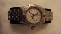 Tag Heuer Watch Older Edition Two Tone Lady's 1500 Series