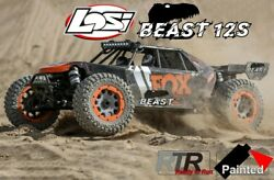 Losi Dbxl-e 2.0 4wd 12s Brushless Rtr Los05020t1/beast Electric Rc-car Electro
