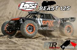 Losi Dbxl-e 2.0 4wd 12s Brushless Rtr, Los05020t1/beast, Electric Rc-car Electro