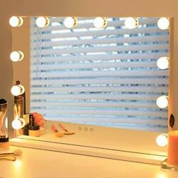 Hollywood Vanity Mirror With Lights - Makeup Mirror Beauty Cosmetic Tabletop