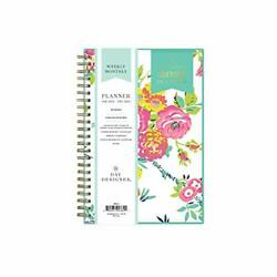 Day Designer for 2021 Weekly amp; Monthly Planner Flexible Cover Twin Wire $37.34