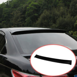 Fit For Honda Accord 9th 2014-2017 Abs Black Roof Spoiler Tail Lip Wing Bar 1pcs