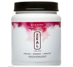Zurvita- Zeal For Life- 30-day Wellness Canister- Wild Berry -420g Exp 03/2022