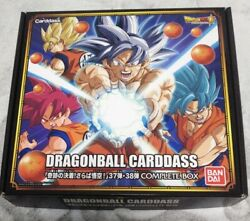 Bndai Premium Dragonball Z Carddass Card Complete Box Part 37 And 38 Full Set
