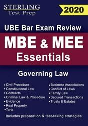 Sterling Test Prep Mbe And Mee Essentials Governing Law For Ube Bar Exam Review