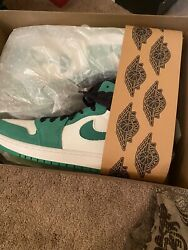Nike Jordan 1 High Zoom Cmft Stadium Green Ct0978-300 Size 8 Brand New In Hand