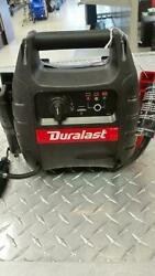 Duralast 1000 Amp Portable Battery Jump Starter With Compressor As Is Parts-ppc