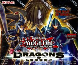 Yugioh Dragons Of Legend 1st Edition Booster Box Blowout Cards