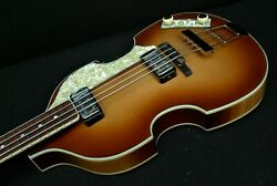 Hofner Hct-500/1-sb Beatle Bass Vintage Look Conversion Labella's And Tea Cups