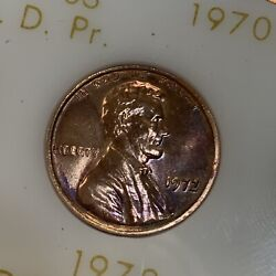 1959-1979 W/ 1972 Ddo Complete Lincoln Cent Set. Bu And Proof In Capital Plastic.