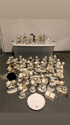 Lot Of Over 65 Precious Moments Pieces.