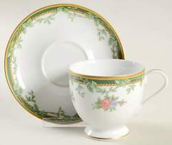 Gorham Valcourt Gold Cup And Saucer 173281