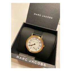 Marc By Marc Jacobs Mj1514 Stainless Steel Black Leather Analog Watch For Adult