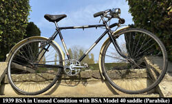 1939 Bsa With Bsa 40 Saddle Ww2 Airborne Military Bicycle Parabike Vintage Army