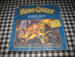 Elf Quest Pack 100 Complete Heroquest Expansion The Mage Of The Mirror Rare