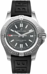 New Breitling Colt 41 Automatic Grey Dial Men's Watch A17313101f1s1 Retail 3475