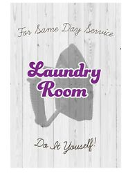 Laundry Room Sign Home Decor Funny Clothes Washing Signs Are New