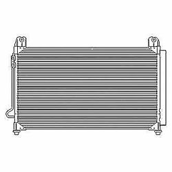 A/c Compressor And Condenser Radiator Kit For 2015 Gmc Sierra 1500