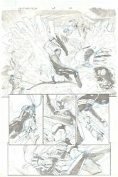 Ultimates 3 P.10 Awesome Spider-woman And Hawkeye Action - 2011 Art Par Esad