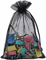Black Bags Small Drawstring Bags Pouches Party Gift Candy Bag $8.99