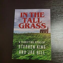 Stephen King And Joe Hill In The Tall Grass Novella Book Limited Release