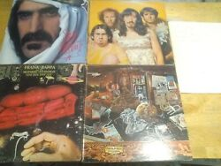Frank Zappa Lot Of 5 Lp One Size Fits All /discreetzoot Allures Sheik1st Vg